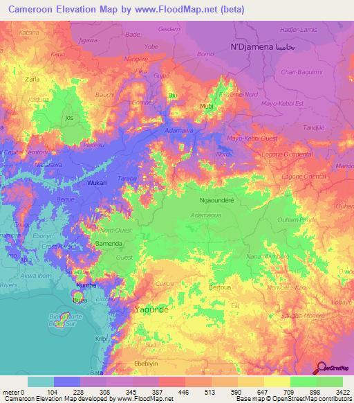 Cameroon Elevation and Elevation Maps of Cities, Topographic ... on côte d'ivoire map, estonia map, grenada map, monaco map, gambia map, saudi arabia map, rwanda map, madagascar map, ghana map, egypt map, mali map, sudan map, namibia map, croatia map, tunisia map, congo map, algeria map, thailand map, kenya map, angola map, liberia map, cape verde map, morocco map, gabon map, uganda map, africa map, libya map, nigeria map, senegal map, malawi map, ecuador map, comoros map, niger map, ethiopia map, mozambique map, zimbabwe map,