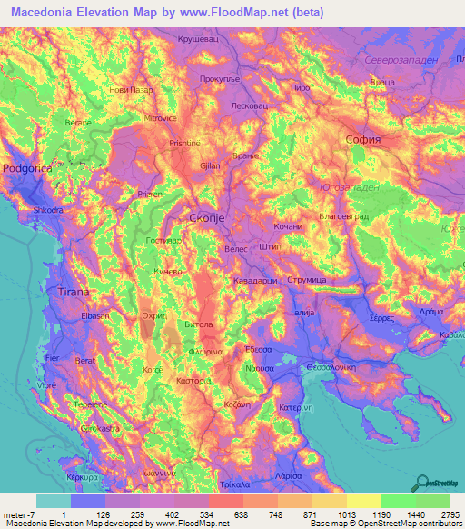 Macedonia Elevation and Elevation Maps of Cities ... on italy map, spain map, czech republic map, roman empire map, austria map, bosnia and herzegovina map, iceland map, asia minor map, russia map, peloponnesus map, scotland map, greece map, netherlands map, marshall islands map, gaul map, europe map, belgium map, germany map, persia map, caspian sea map, france map, balkan peninsula map, portugal map, greek islands map, cyprus map, sweden map, switzerland map, turkey map, norway map, united kingdom map, ireland map, kuwait map, poland map, sicily map, denmark map, malta map,