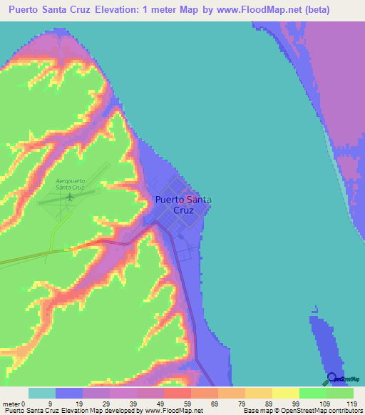 Argentina Elevation Map