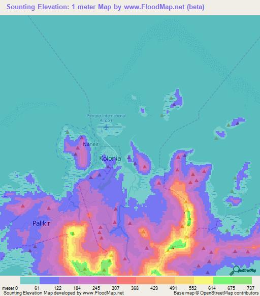 Blog de sociales Abraham Jesús Fernández: PHYSICAL MAP OF ...   Micronesia Map Range