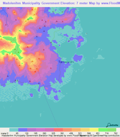 Mountain Weather Forecasts   Micronesia Map Range