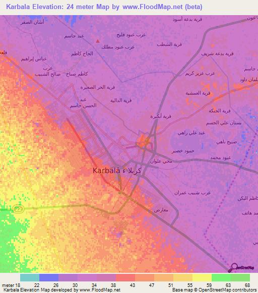 Elevation of Karbala,Iraq Elevation Map, Topography, Contour on dahuk iraq map, us military iraq map, taji iraq map, beirut iraq map, samara iraq map, baquba iraq map, salahuddin iraq map, tel keppe iraq map, al-karmah iraq map, muqdadiyah iraq map, ramallah iraq map, jalawla iraq map, sulaimaniya iraq map, isil iraq map, haditha dam iraq map, mesopotamia iraq map, middle east iraq map, habbaniyah iraq map, kufa iraq map, ankawa iraq map,